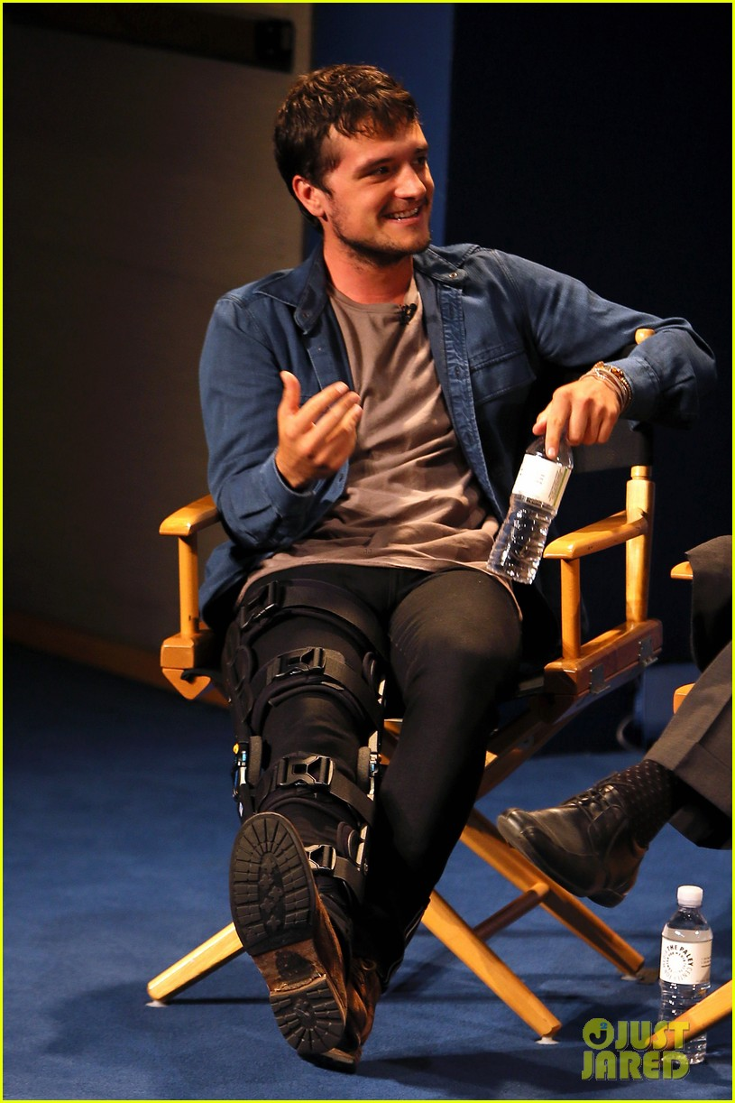 josh hutcherson and future man co stars preview new hulu series at paleyfest 01