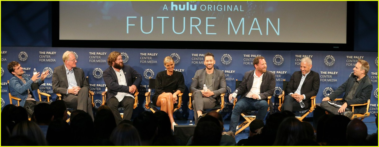 Josh Hutcherson Spills on His New Hulu Show 'Future Man' | Photo