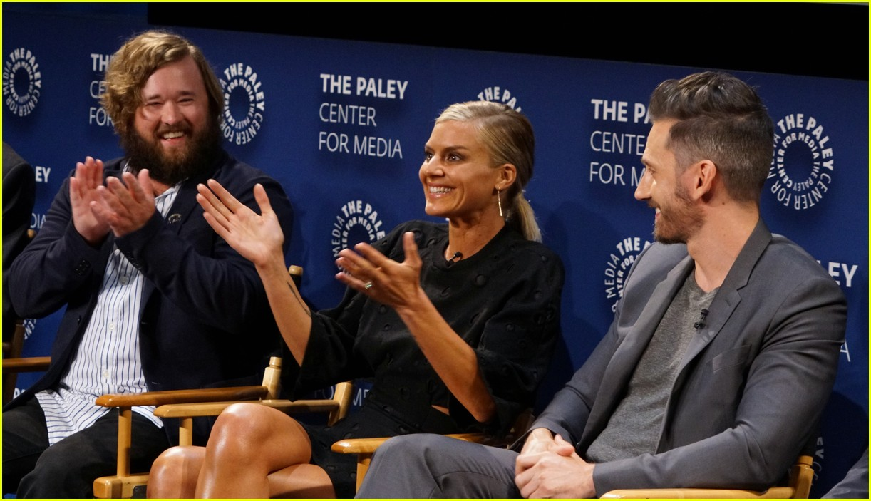 josh hutcherson and future man co stars preview new hulu series at paleyfest 19
