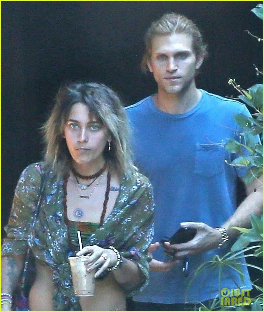 paris jackson spotted hanging out with keegan allen 02