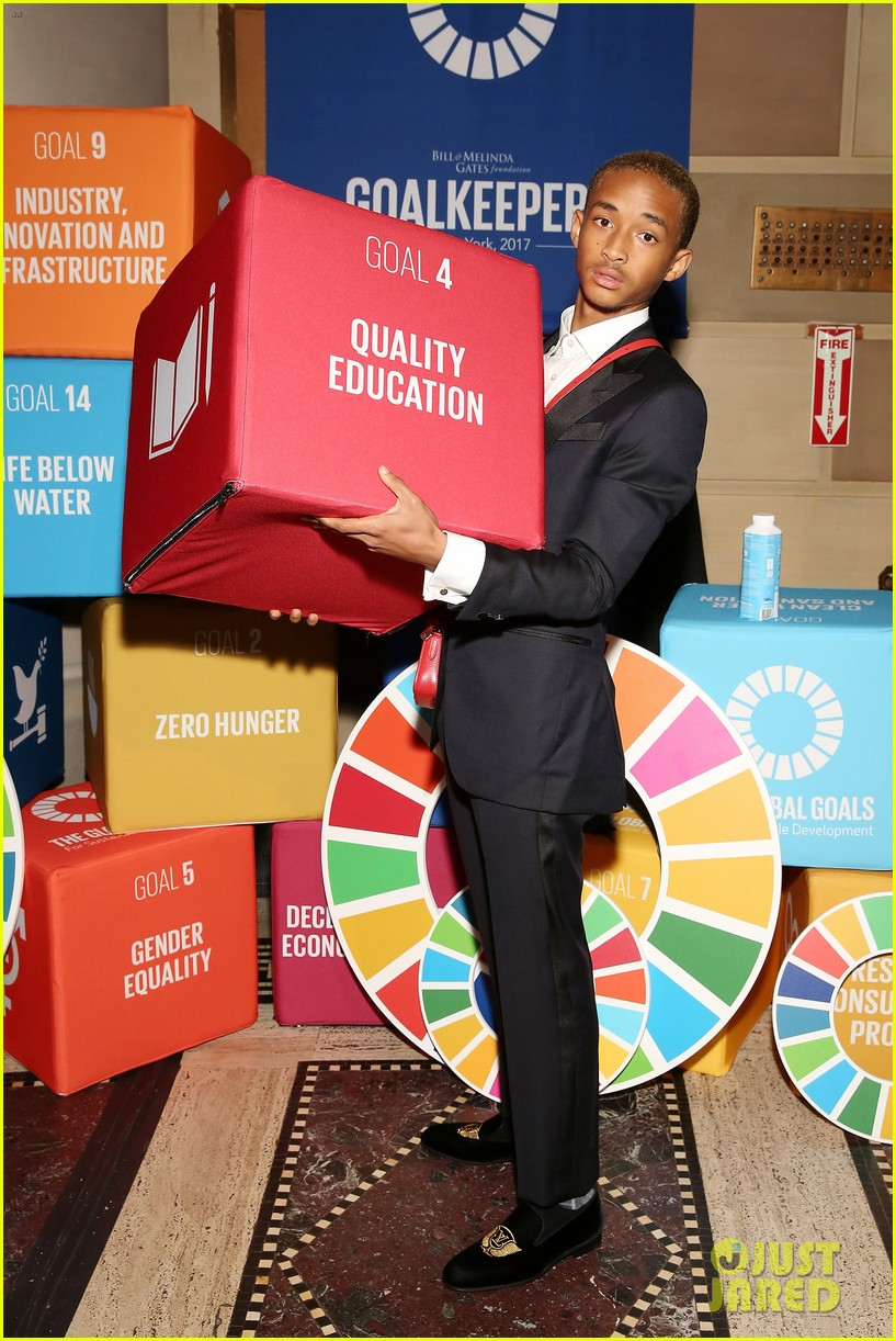 jaden smith odessa adlon attend un global goals event photo