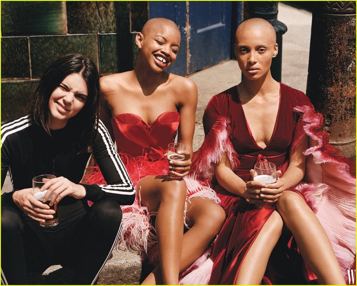 kendall jenner and emily ratajkowski hang out in haute couture and hoodies2 05