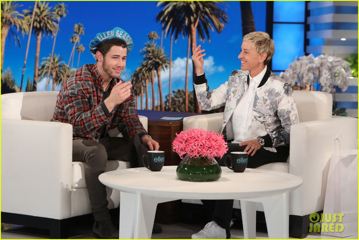 nick jonas opens up about what inspired find you on ellen 01