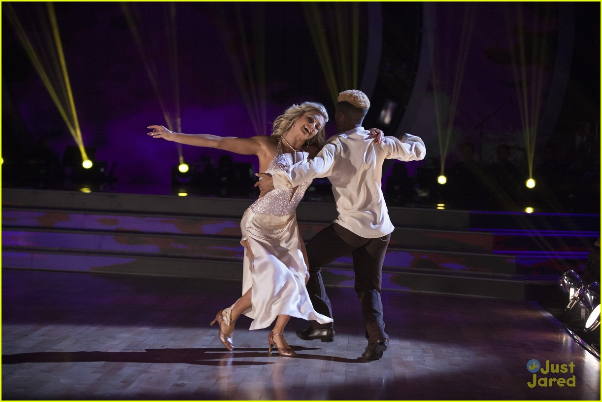 jordan fisher challenges cuban heel dwts ballroom night 05
