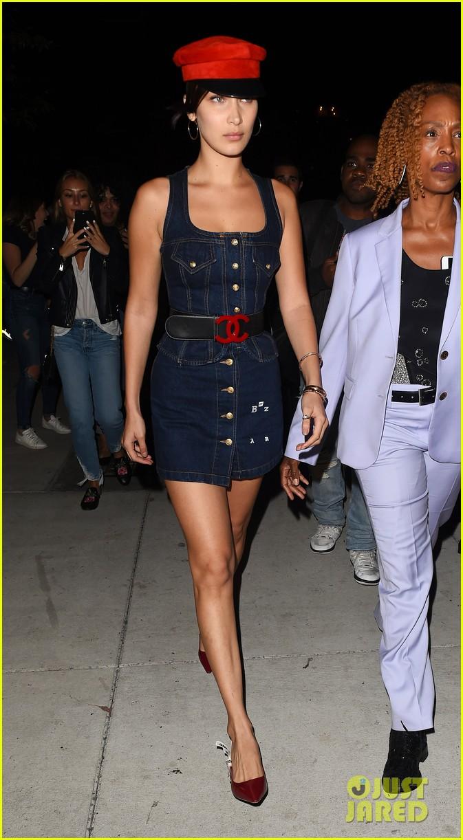 kendall jenner bella hadid enjoy fashionable night out 01