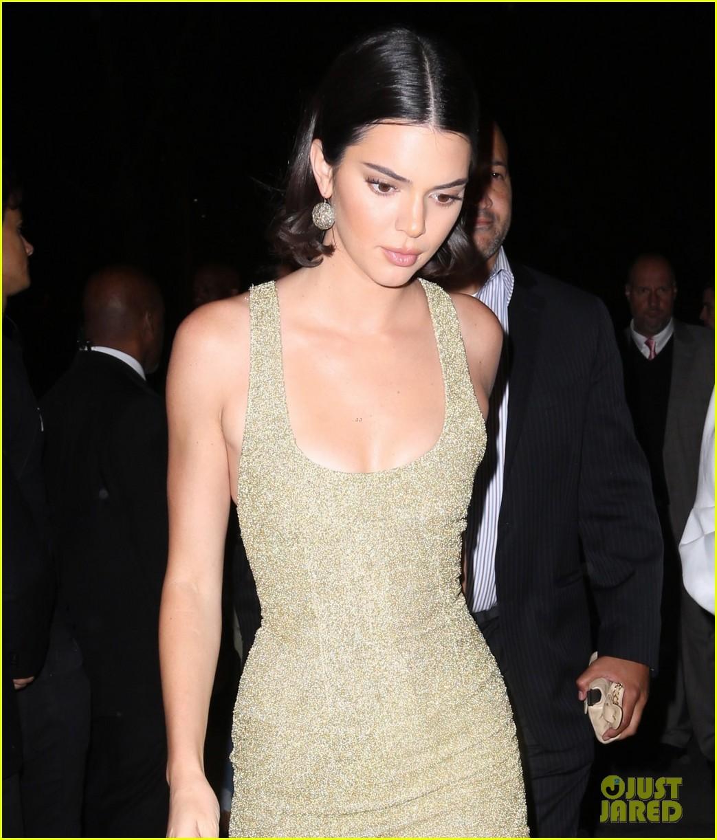 kendall jenner bella hadid enjoy fashionable night out 02