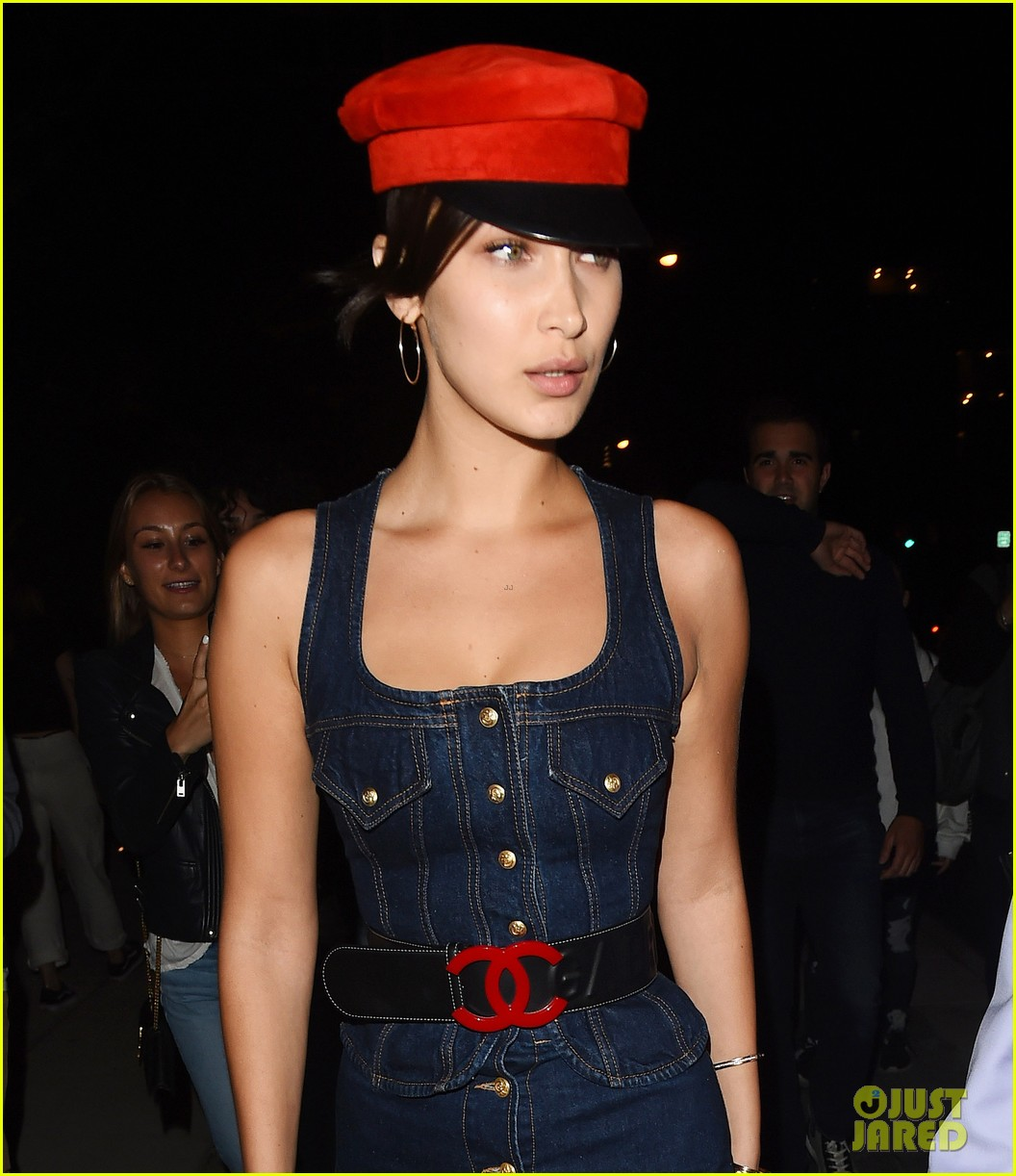 kendall jenner bella hadid enjoy fashionable night out 04