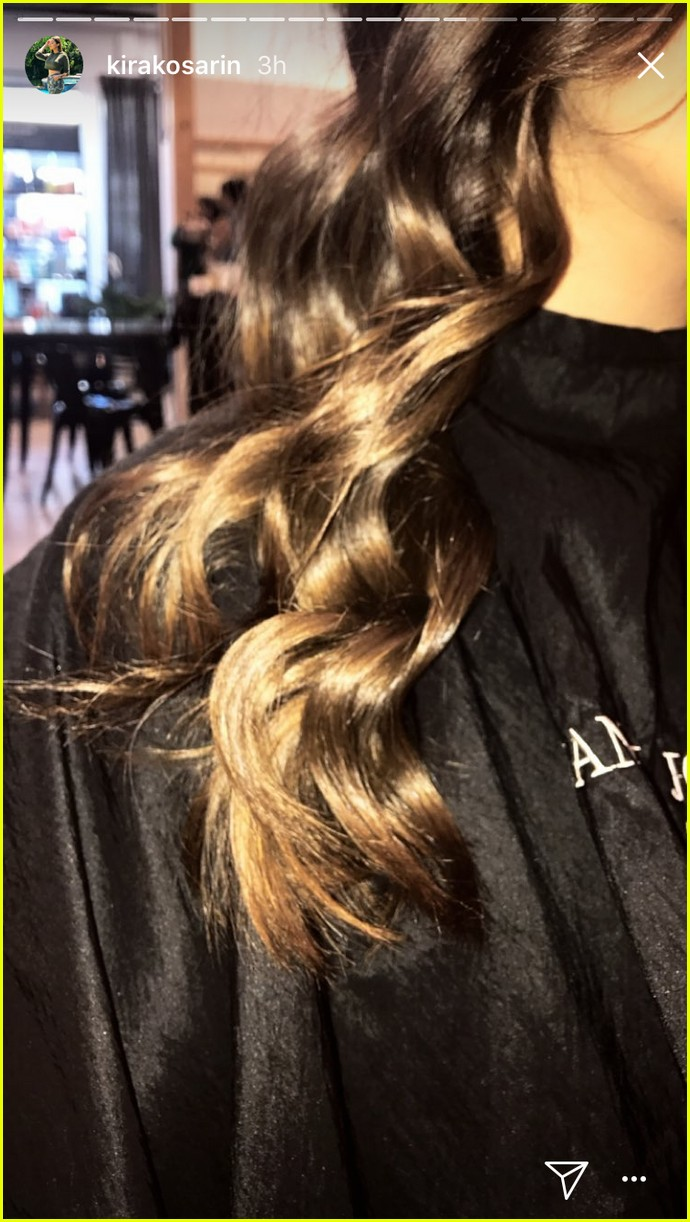 Kira Kosarin Changes Up Her Hair Color It Looks Gorgeous Photo