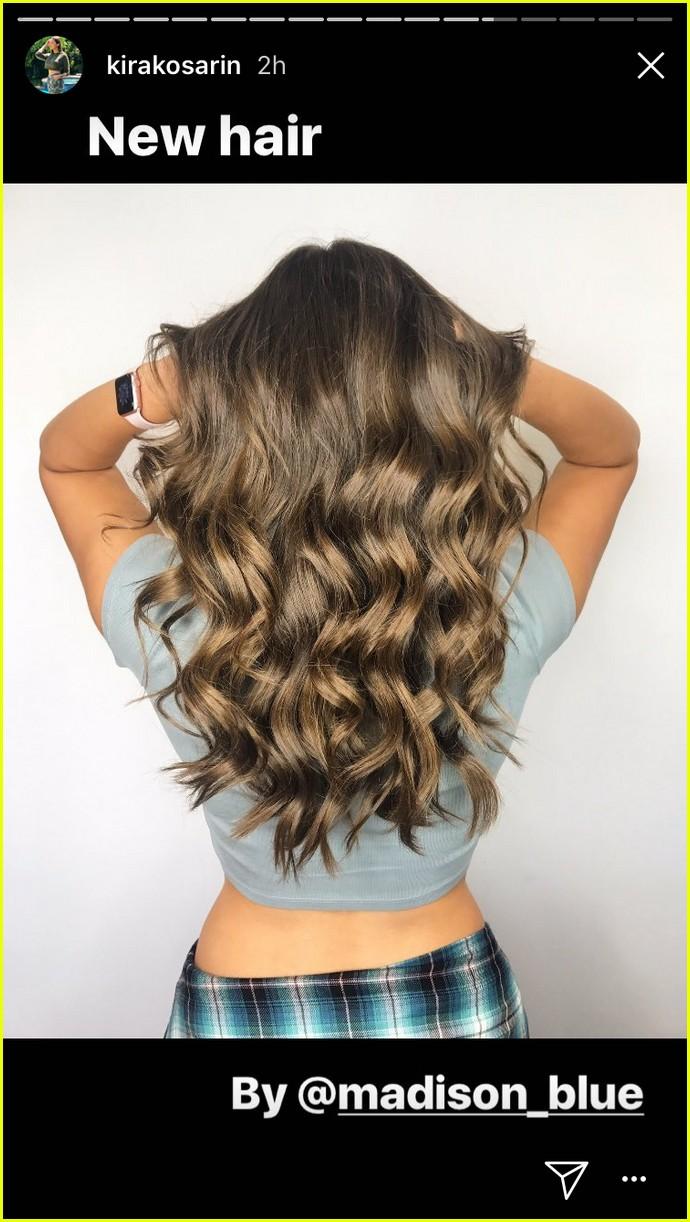 kira kosarin new hair highlights see pics 04
