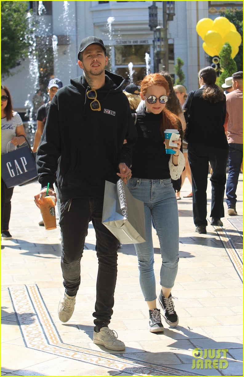 d32acf5c4d780 Madelaine Petsch   Boyfriend Travis Mills Couple Up For Afternoon Outing!