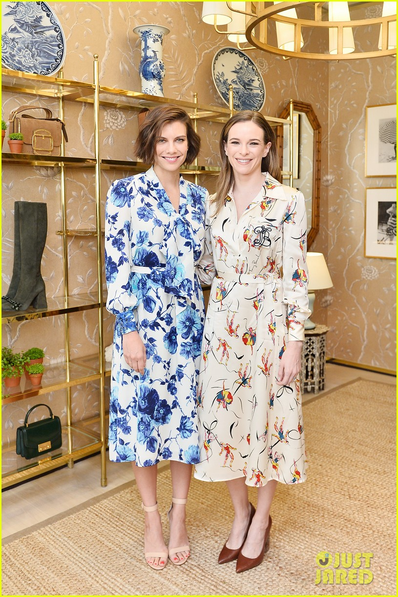 danielle panabaker alisha boe and shannon purser team up for glamour event 18