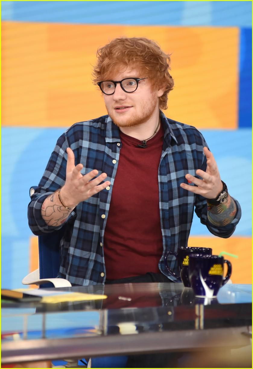 Ed Sheeran Will Tour Stadiums In 2018 Photo 1113248