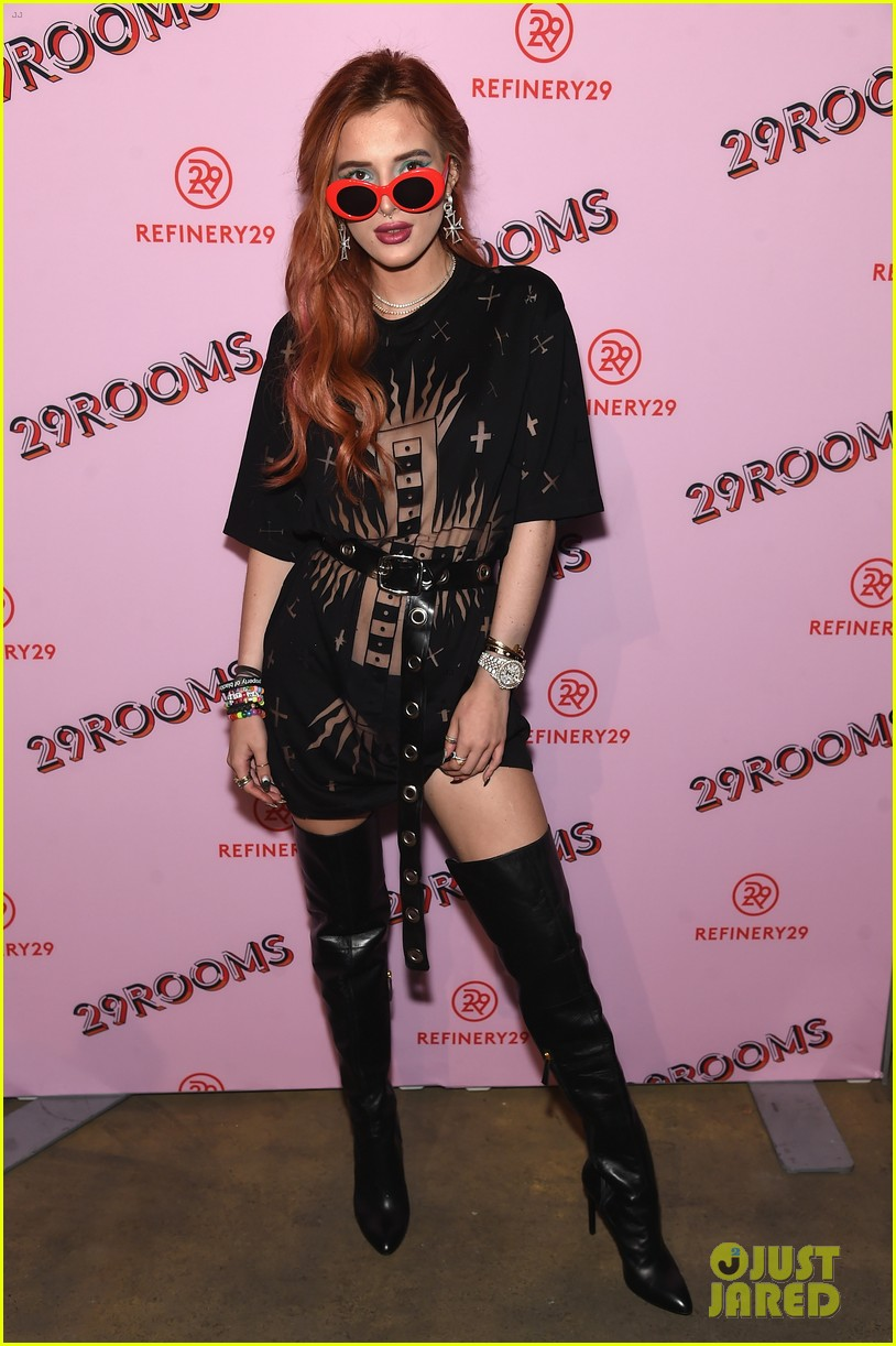 bella thorne emma roberts and ashley benson step out for 29rooms event 01