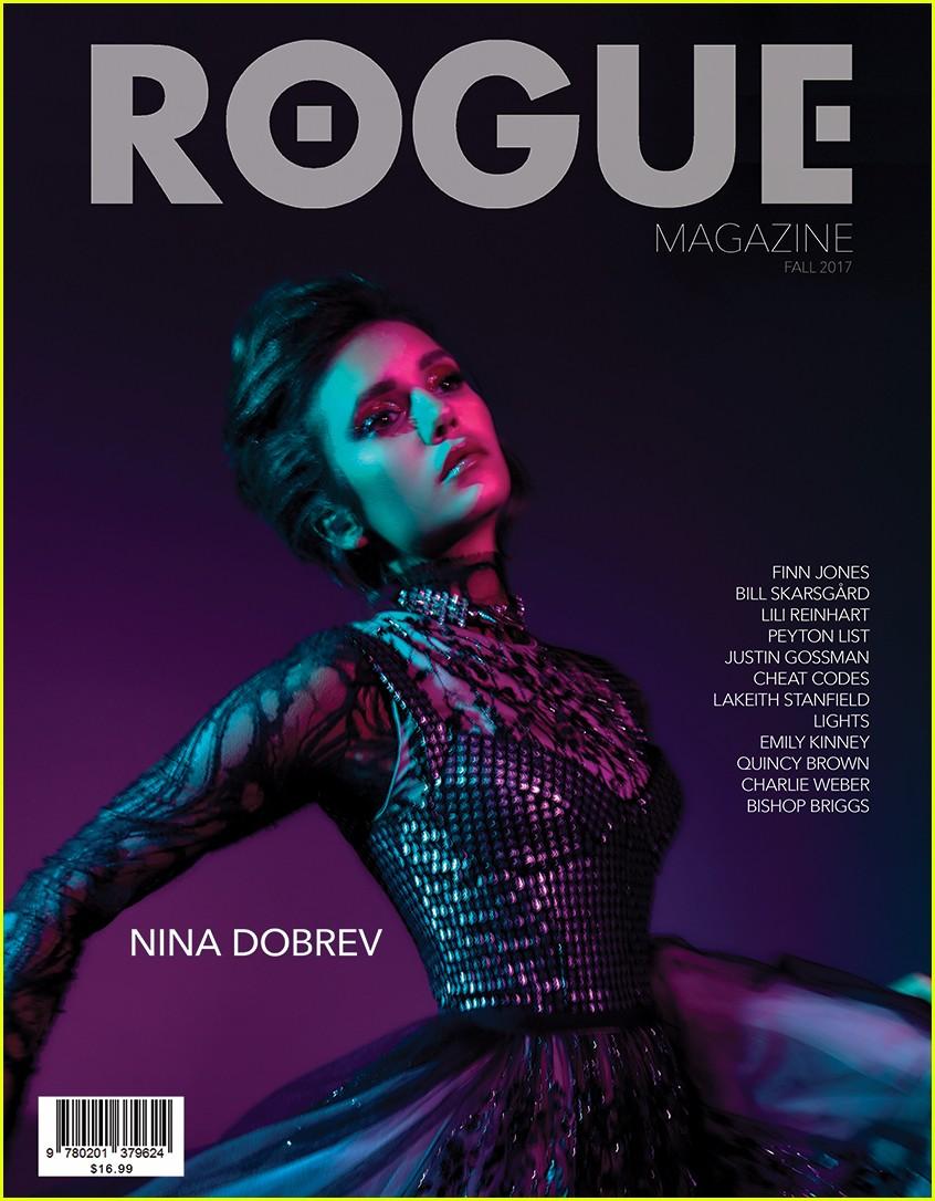 nina dobrev talks vampire diaries exit with rogue magazine 03