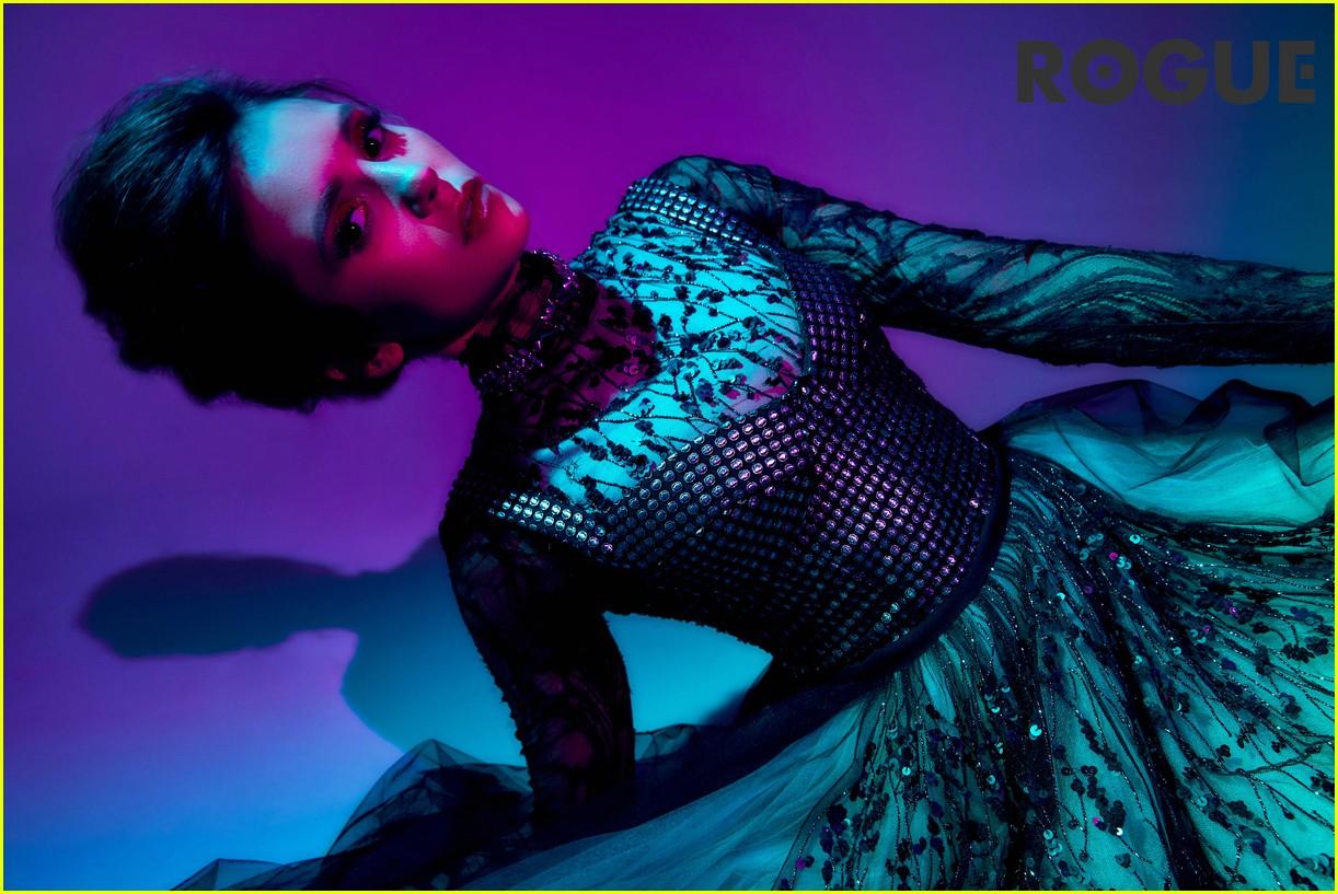 nina dobrev talks vampire diaries exit with rogue magazine 05