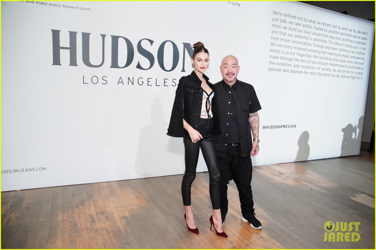 kaia gerber celebrates her hudson jeans collaboration 05