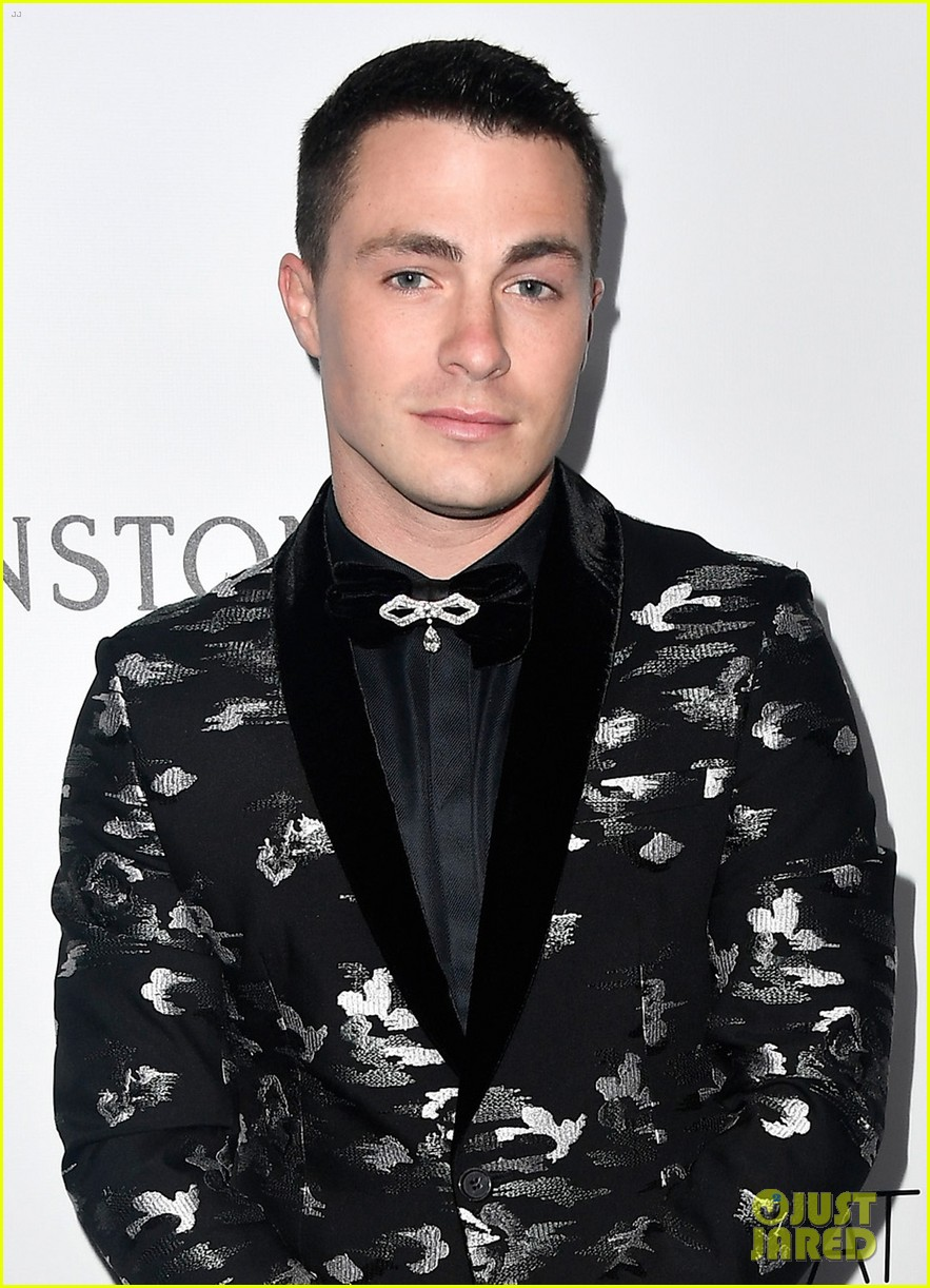 colton haynes sistine stallone and connor franta look sharp at amfar gala2 11