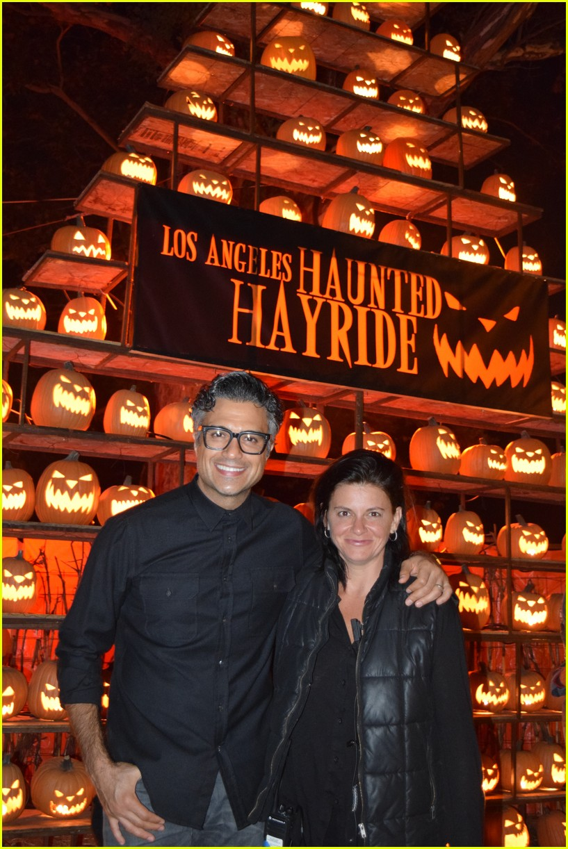 these celebs got spooked on the la haunted hayride 10