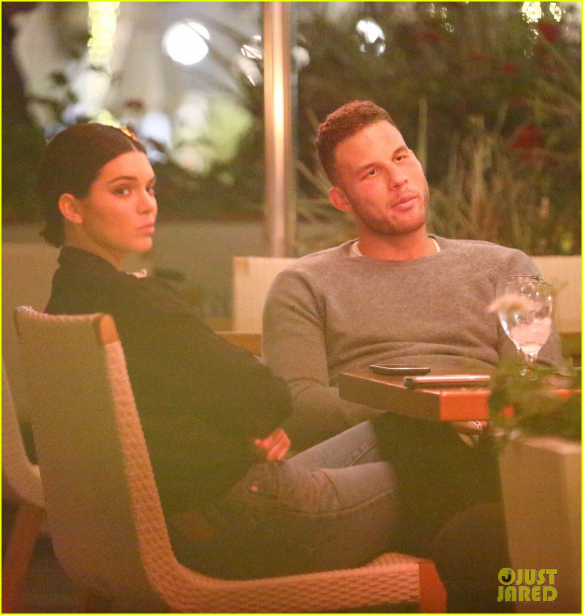kendall jenner joins blake griffin for dinner in beverly hills 01