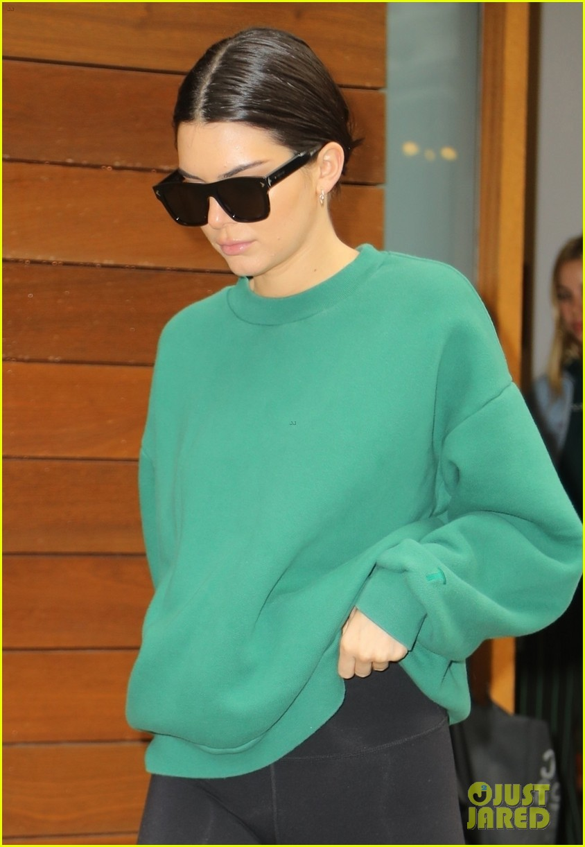 kendall jenner bella hadid rock sporty outfits in nyc 04