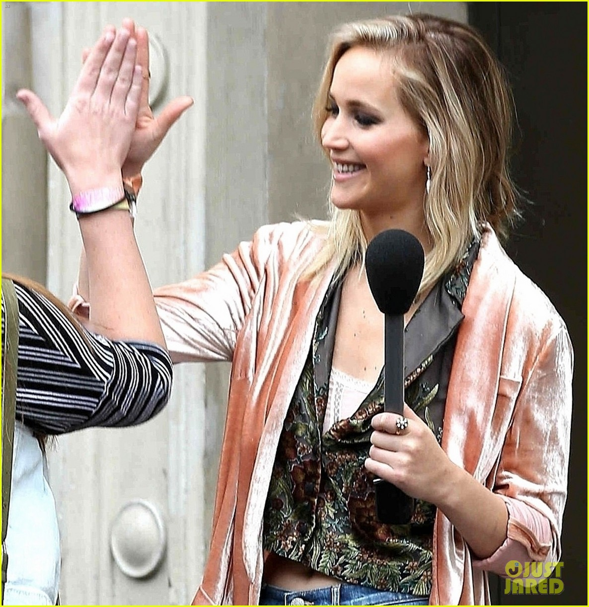 jennifer lawrence hits the streets for jimmy kimmel live segment 05