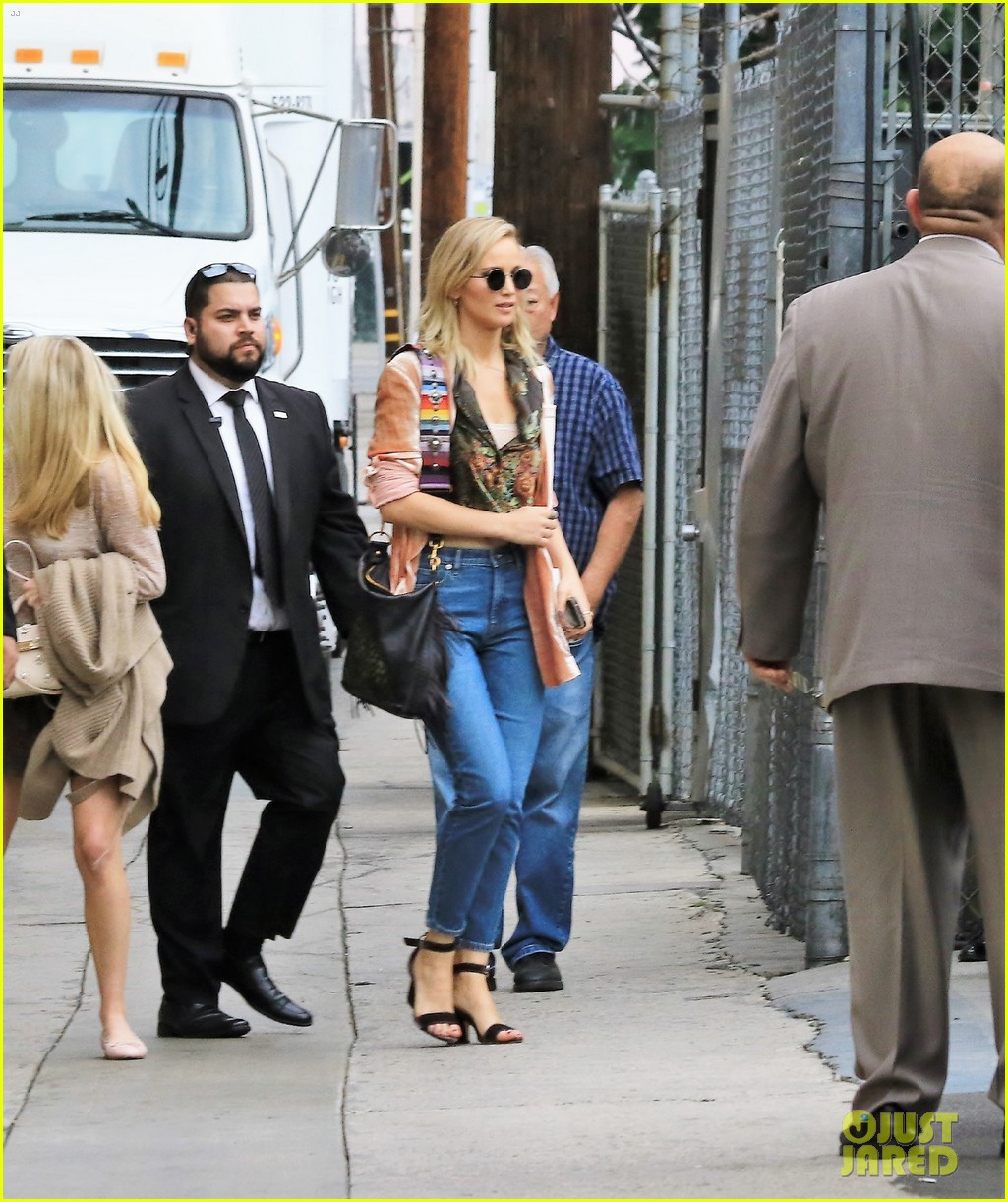 jennifer lawrence hits the streets for jimmy kimmel live segment 11