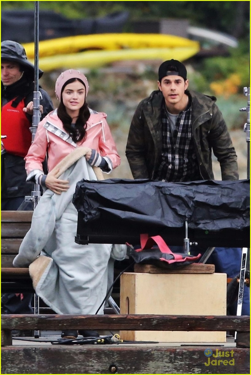 lucy hale jayson blair pick up life sentence filming 01