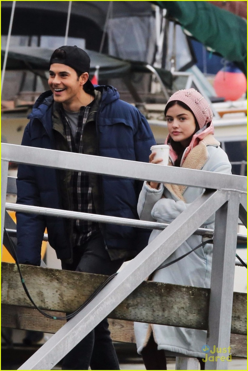 lucy hale jayson blair pick up life sentence filming 07