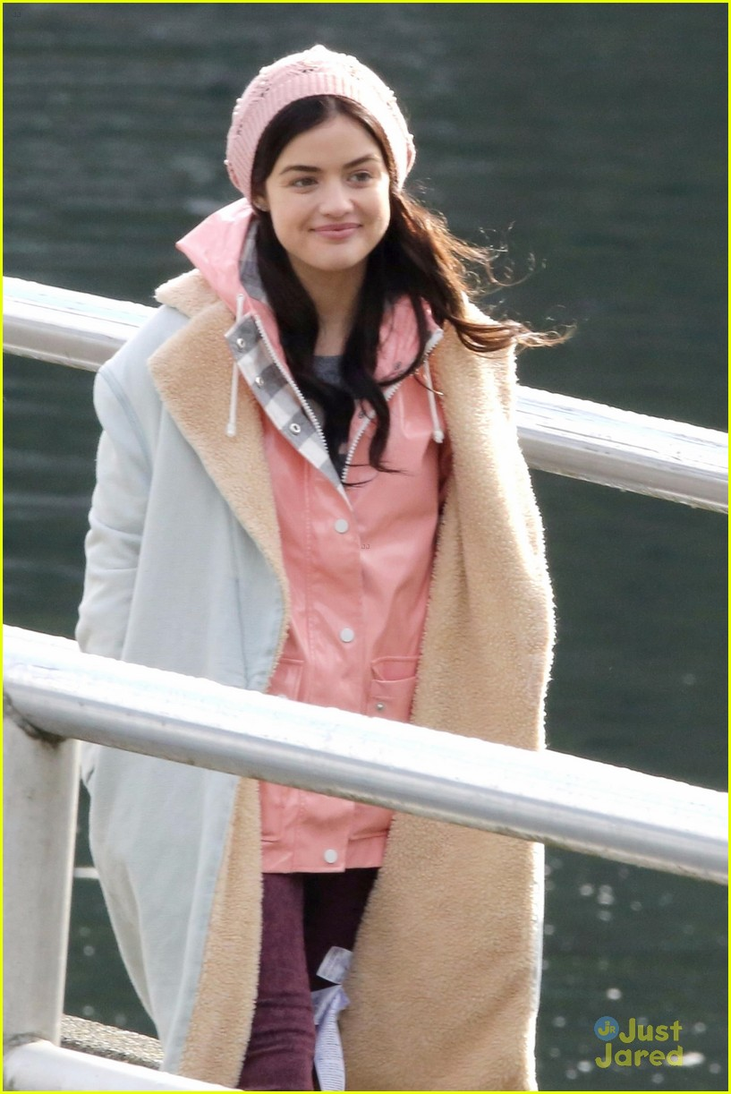 lucy hale jayson blair pick up life sentence filming 10