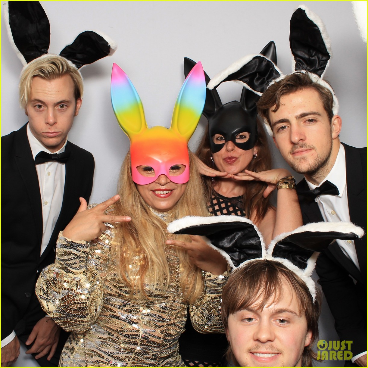 r5 just jared halloween party photo booth 06