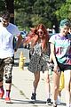 bella thorne goes for sunday hike with sister dani and friends 03