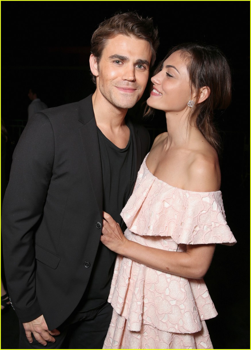 It's Over Again for Paul Wesley & Phoebe Tonkin | Photo ...