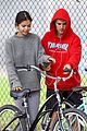 justin bieber selena gomez bike ride together 03