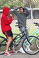 justin bieber selena gomez bike ride together 77