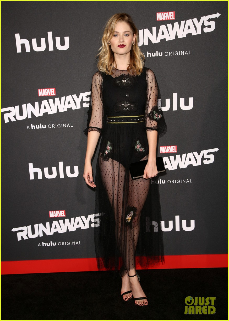 virginia gardner graham rogers runaways premiere 05