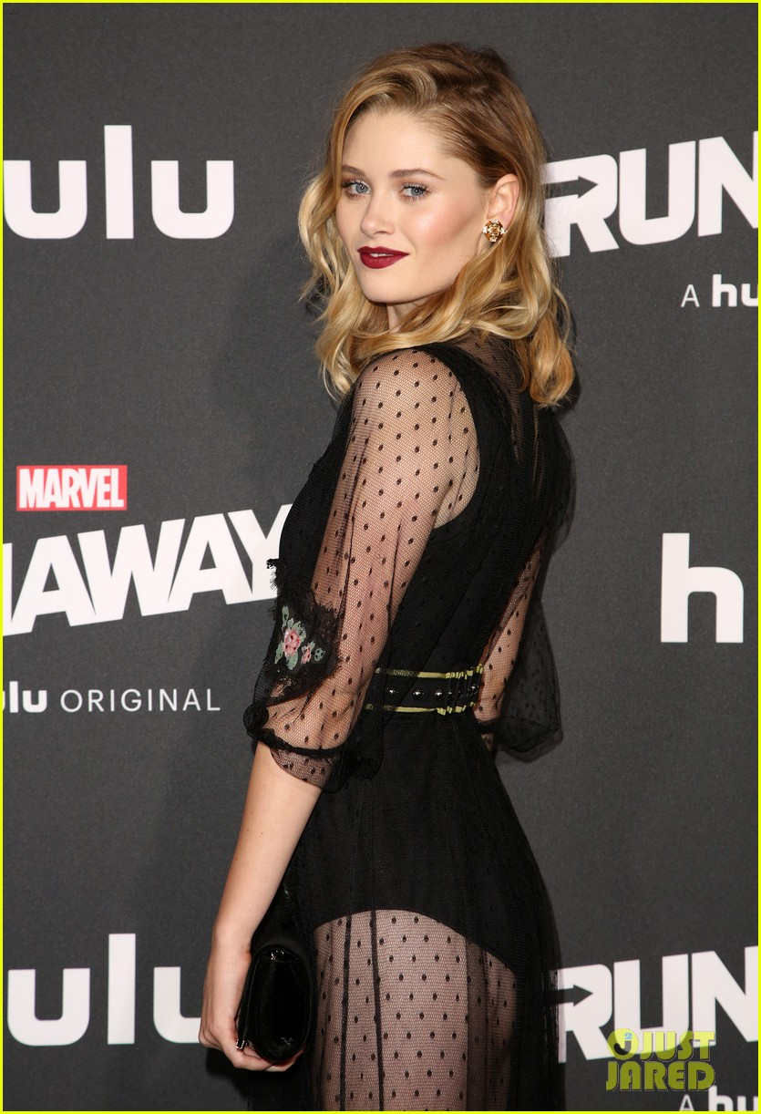 virginia gardner graham rogers runaways premiere 06