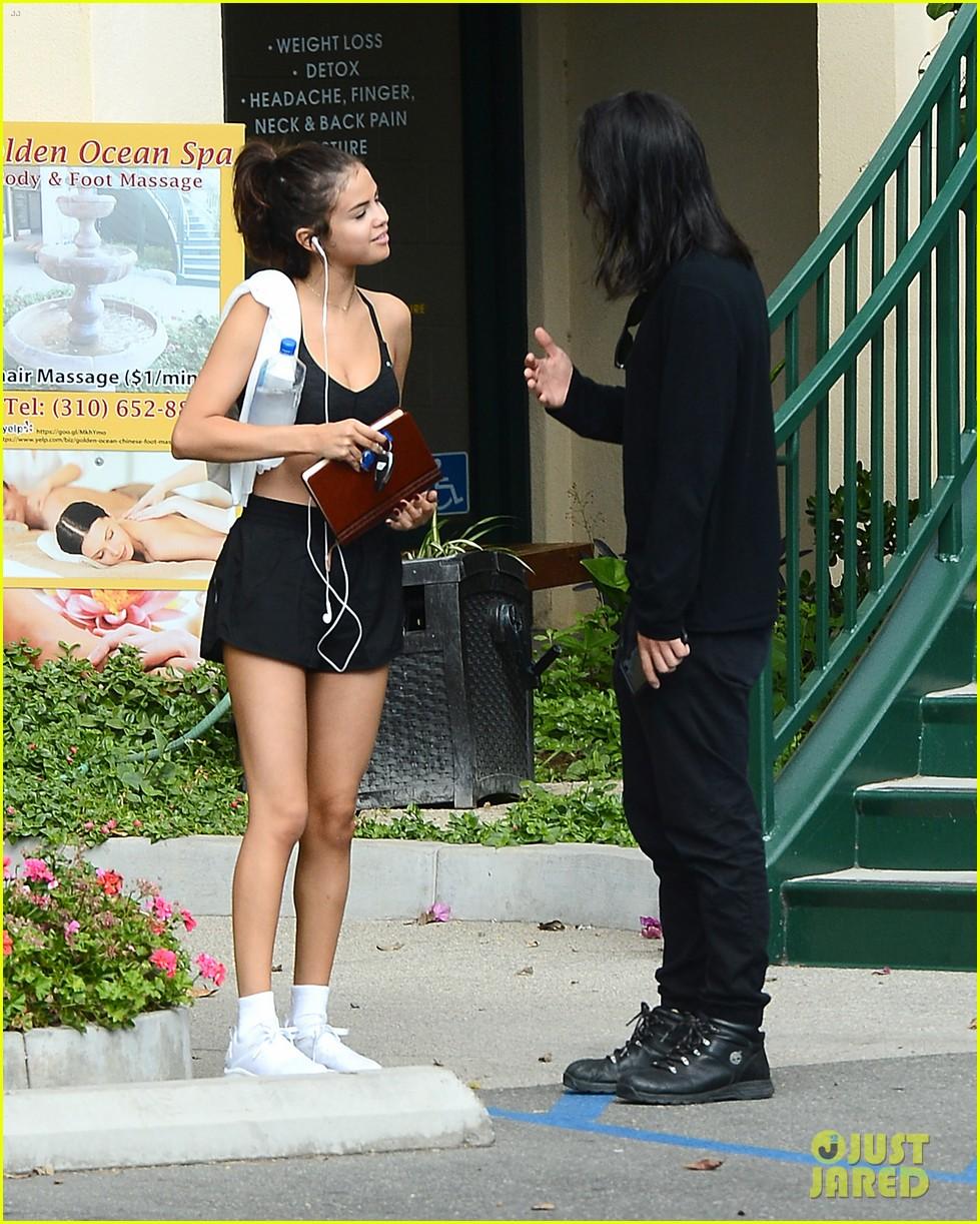 Selena Gomez Foot Massage