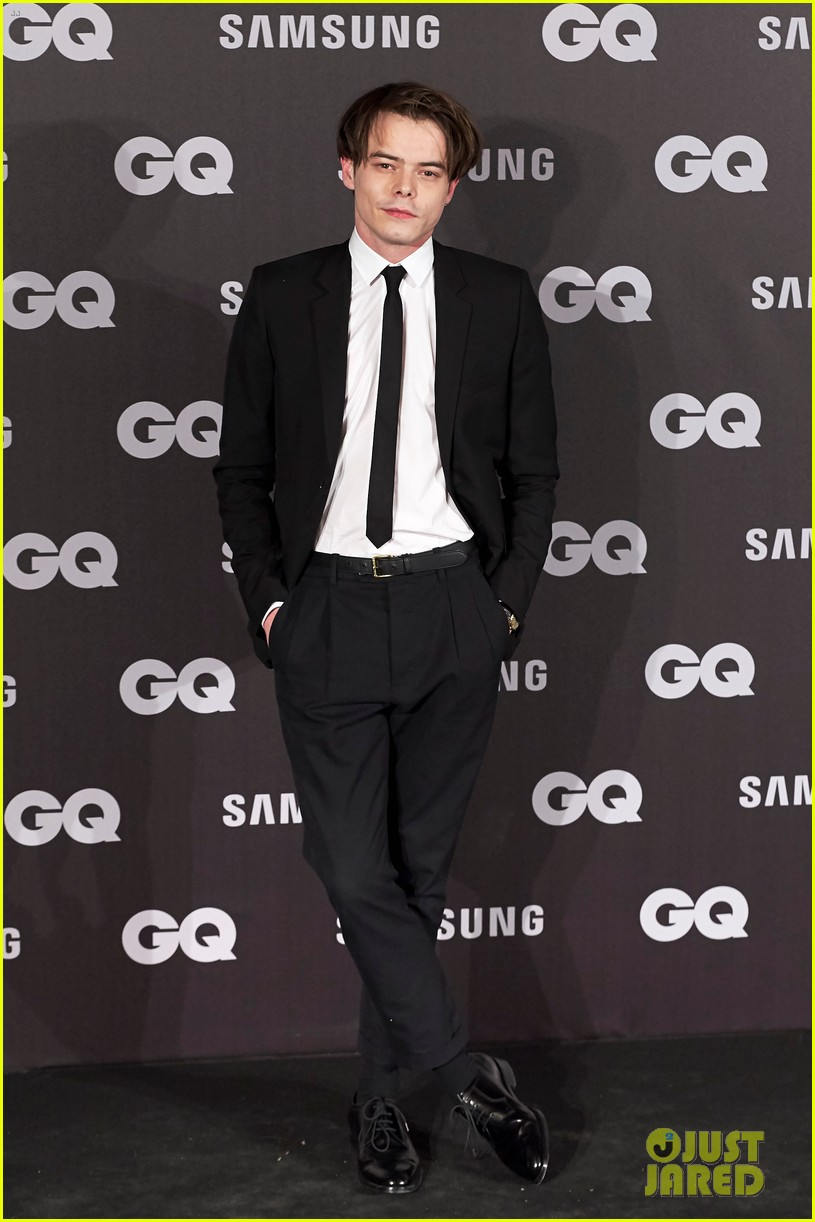 Charlie heaton rocks a skinny tie at gq men of the year awards 2017 charlie heaton looks dapper at gq men of the year awards 05 ccuart Choice Image