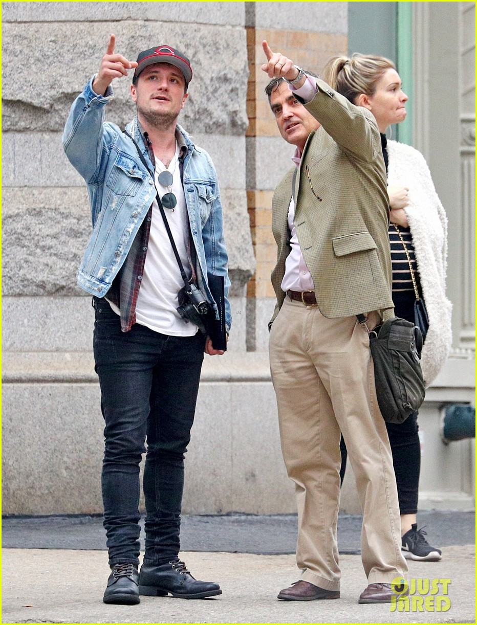 josh hutcherson goes apartment hunting in nyc 01