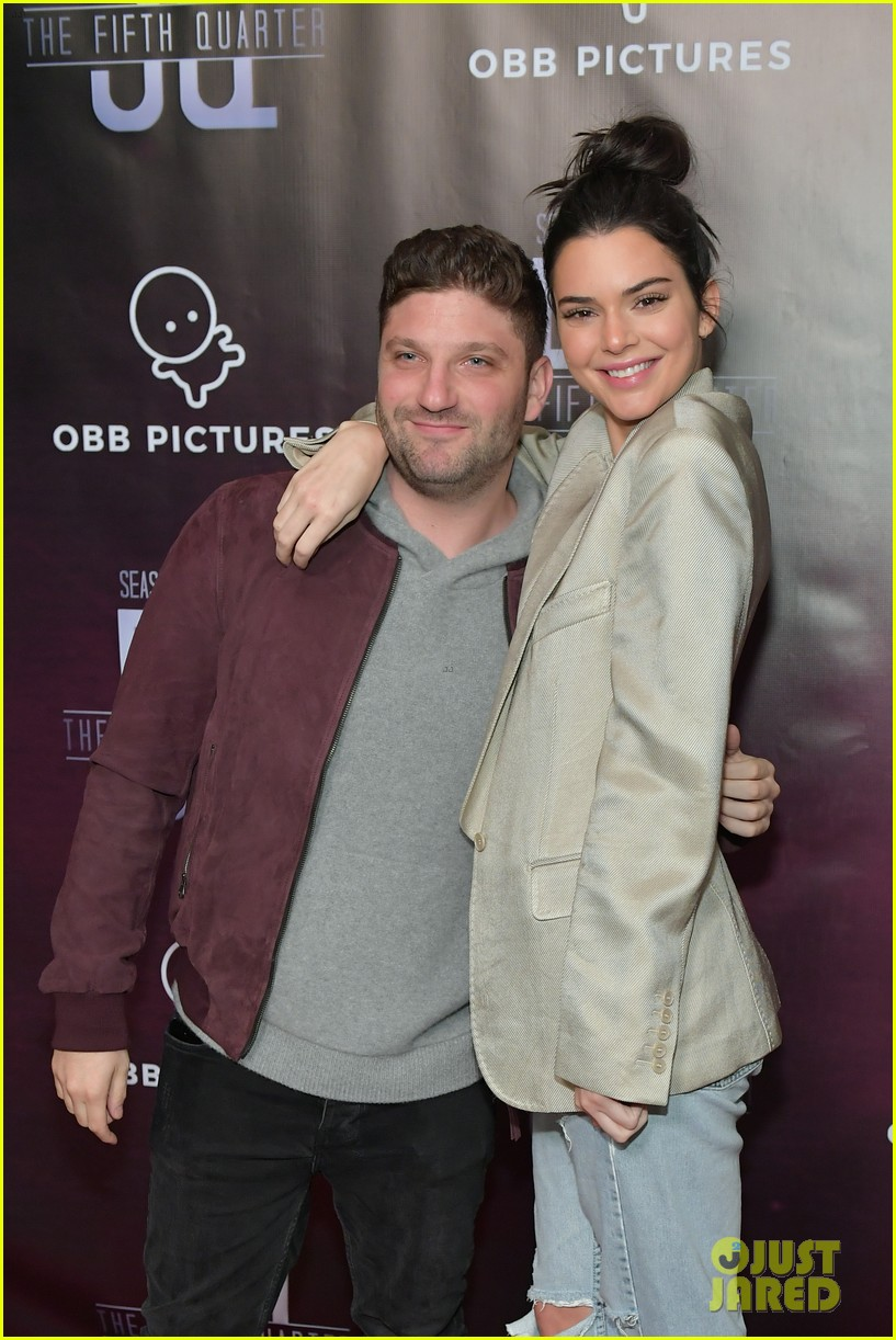 kendall jenner blake griffin attend the 5th quarter premiere 01