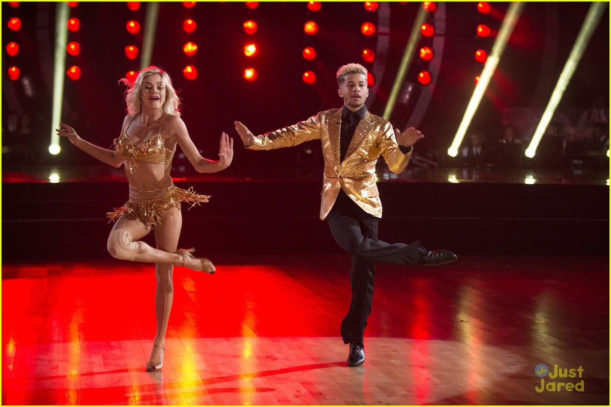 jordan fisher hurts lindsay arnold dwts reactions jive 12