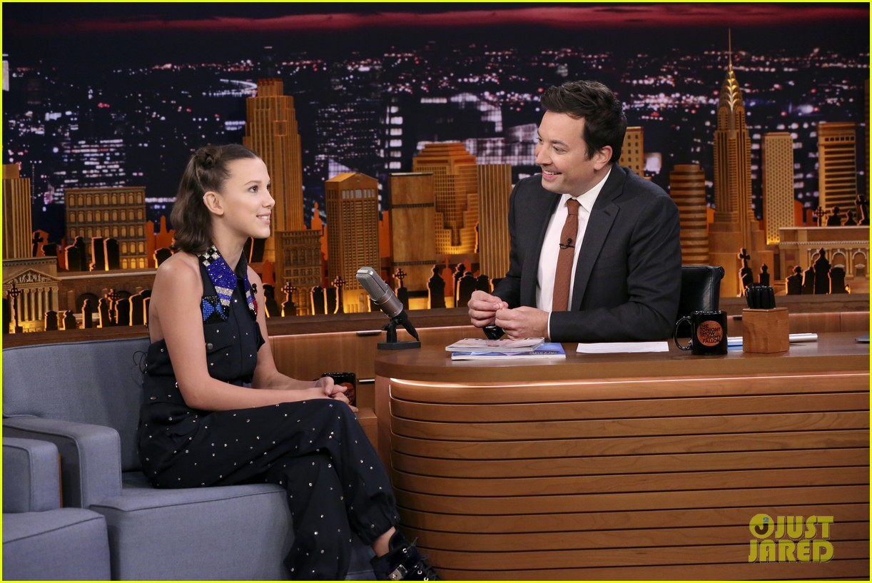 millie bobby brown rap st fallon sirius 14