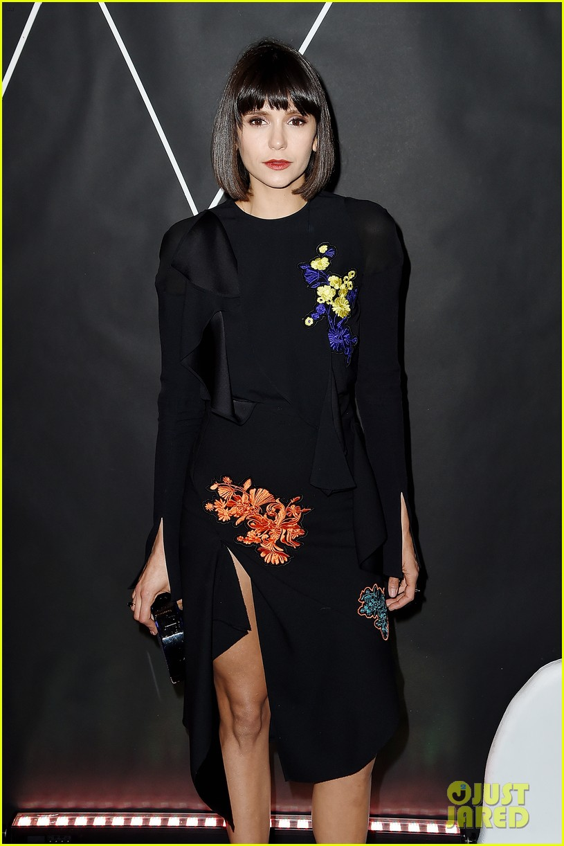 nina dobrev whitney art party 01