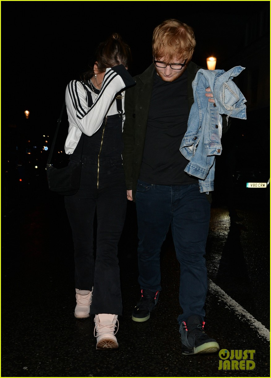 Ed Sheeran Has Date Night with Girlfriend Cherry Seaborn Following X