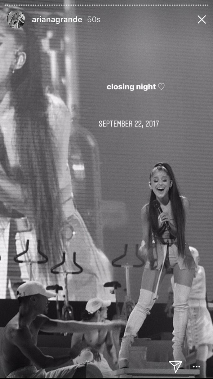 ariana grande 2017 recap instagram stories 02