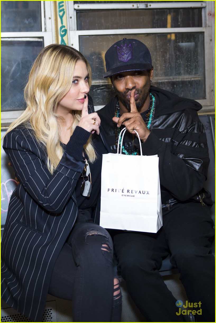 ashley benson prive fan pop up event 04