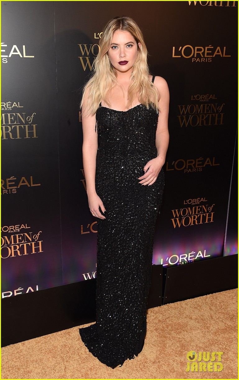 camila cabello and ashley benson glam it up for loreal paris women of worth celebration 02