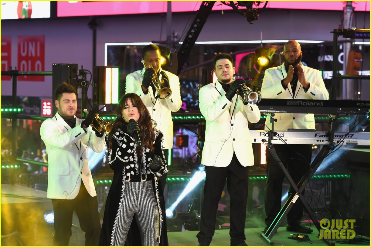 Camila Cabello Brings Down Times Square with 'Havana' NYE