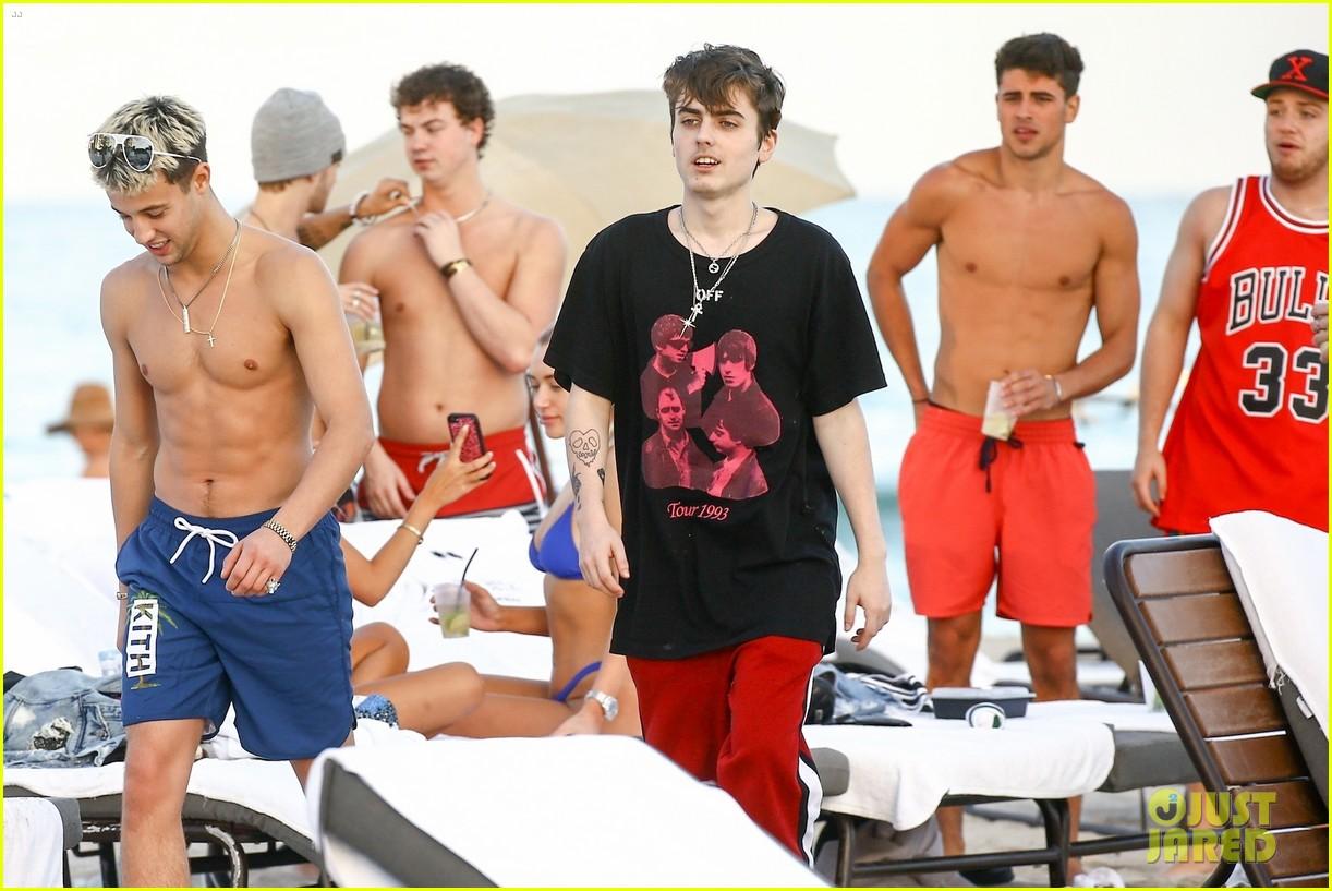 cameron dallas goes shirtless on nye 13