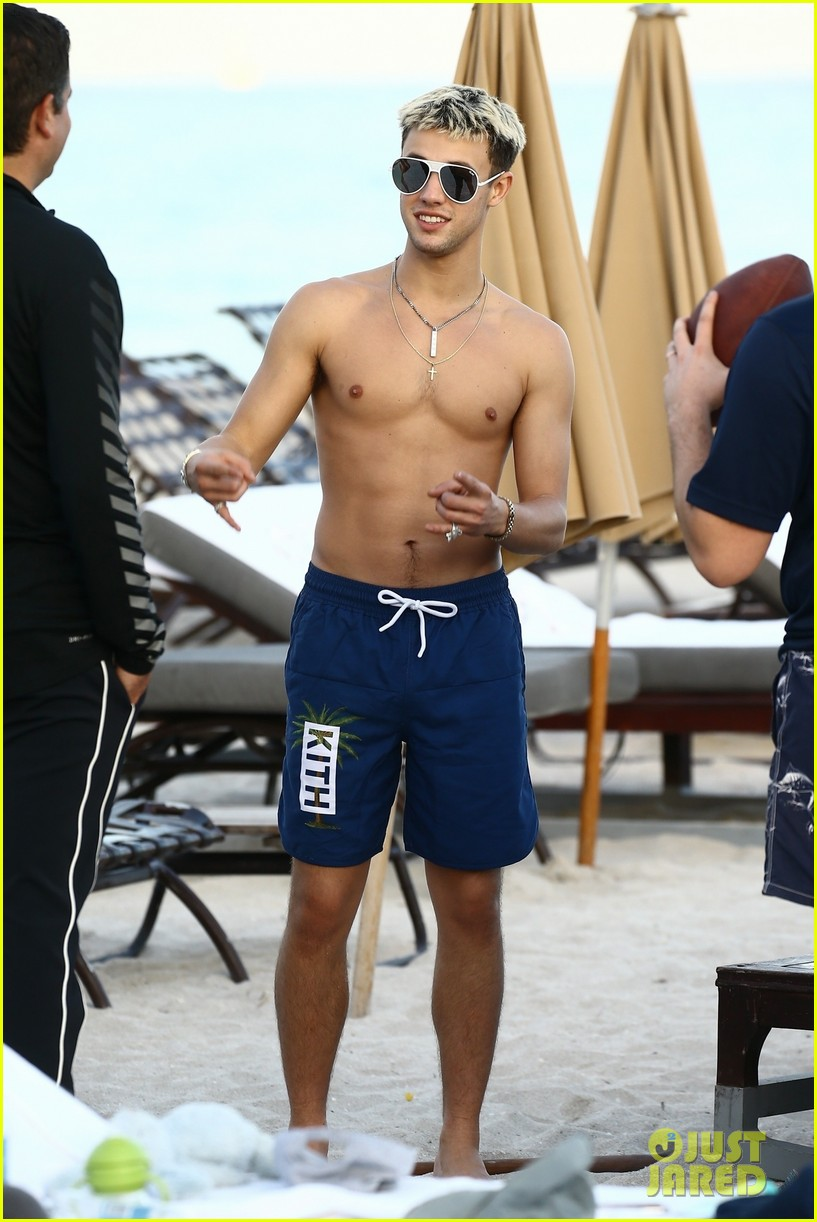 cameron dallas goes shirtless on nye 36